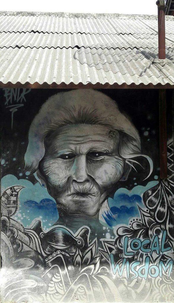 Arte urbano desde Indonesia