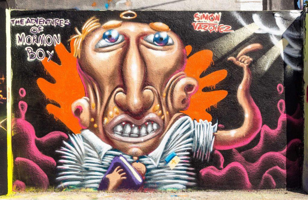 Simón Vázquez arte urbano en Barcelona