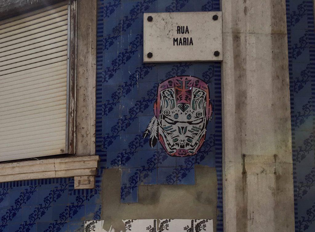 Arte urbano desde Lisboa, Portugal