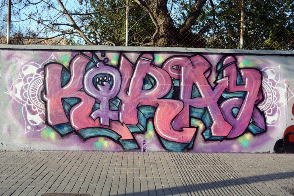 Les Murs Des Femmes arte urbano Barcelona