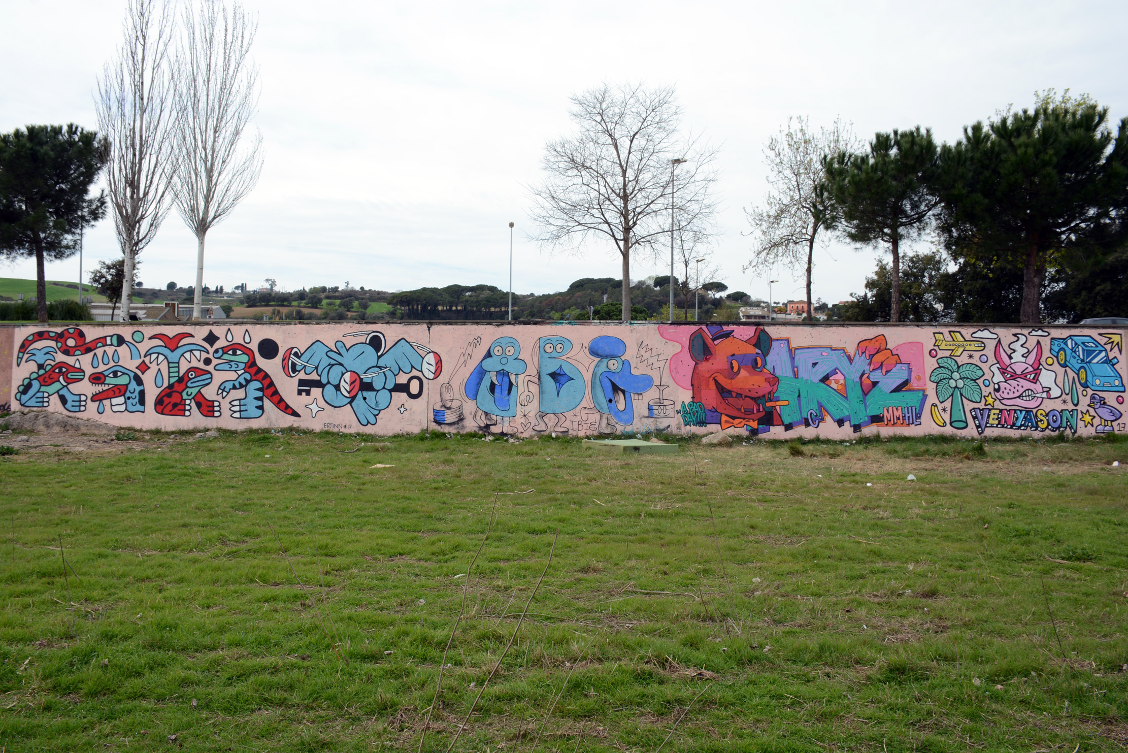 Graffiti colectivo en granollers - Fotografos en granollers ...