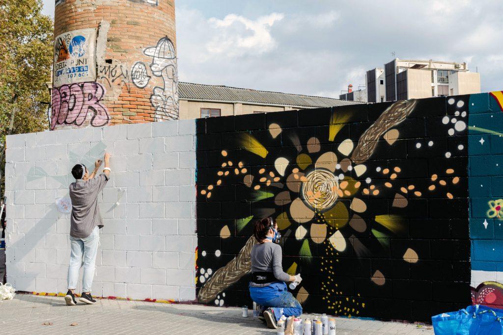 Valiente Creations arte urbano en Barcelona