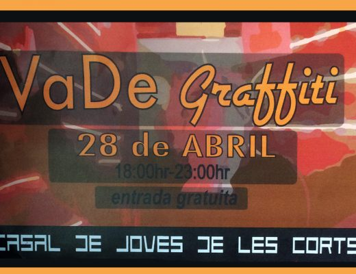 VaDe Graffiti Barcelona, street art en vivo