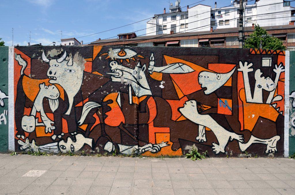 Arte urbano Guernica, País Vasco
