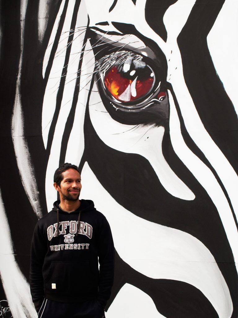 arte urbano en Barcelona, Francesco Pinzón