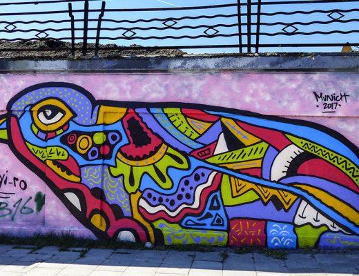 arte urbano en Munich Jyi Westaway