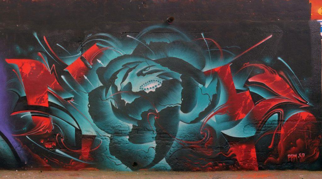 arte urbano Conse Bubblegum, Barcelona