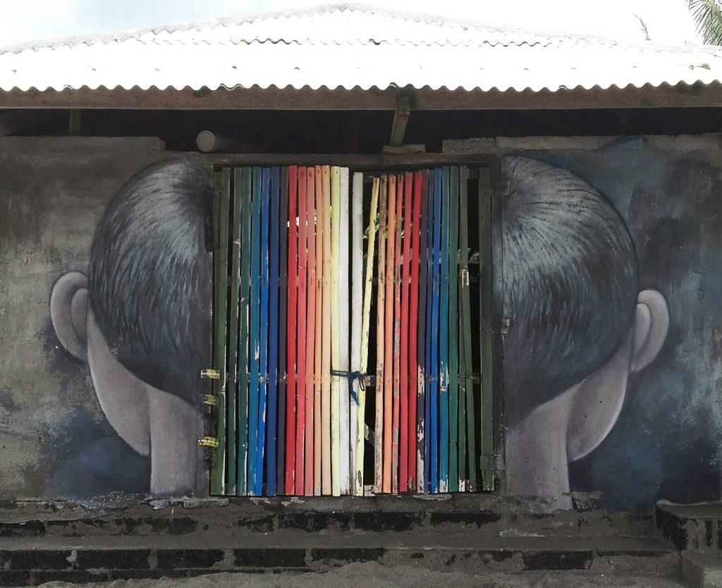 arte urbano Seth, Bali, Indonesia