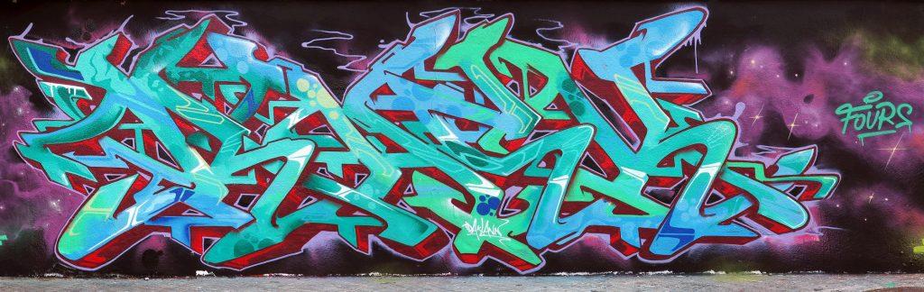 Harry Bones, Rasktdaklann & Musa71 arte urbano en Barcelona
