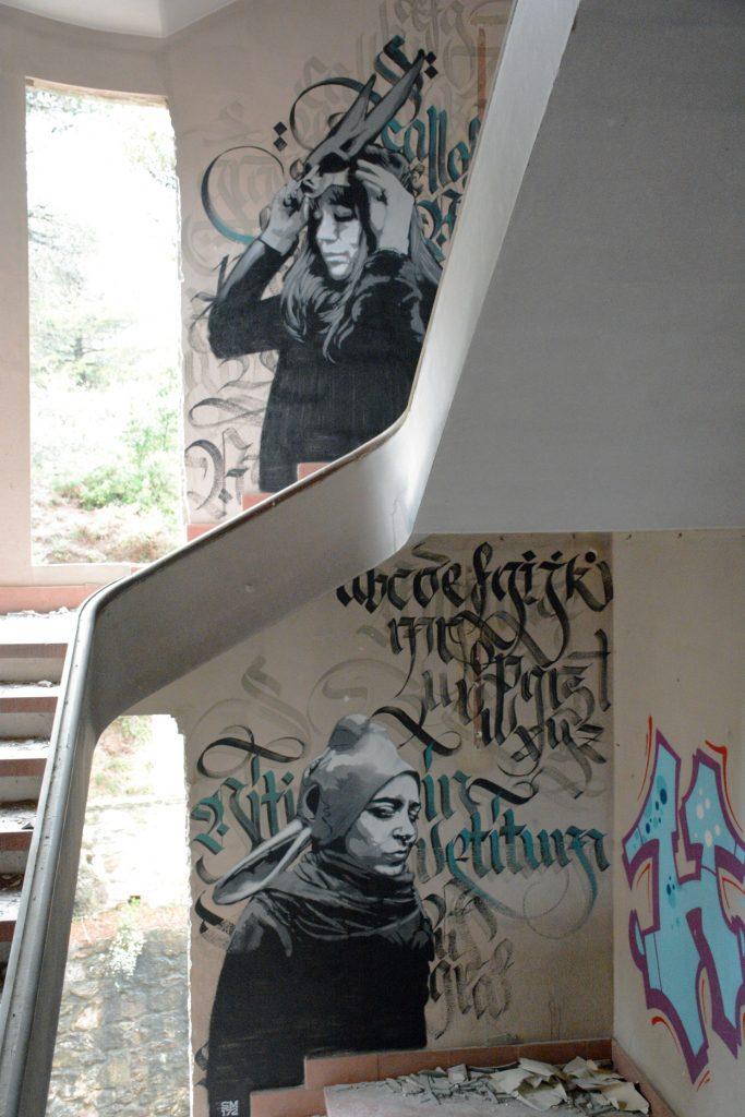 SM172 arte urbano, Barcelona