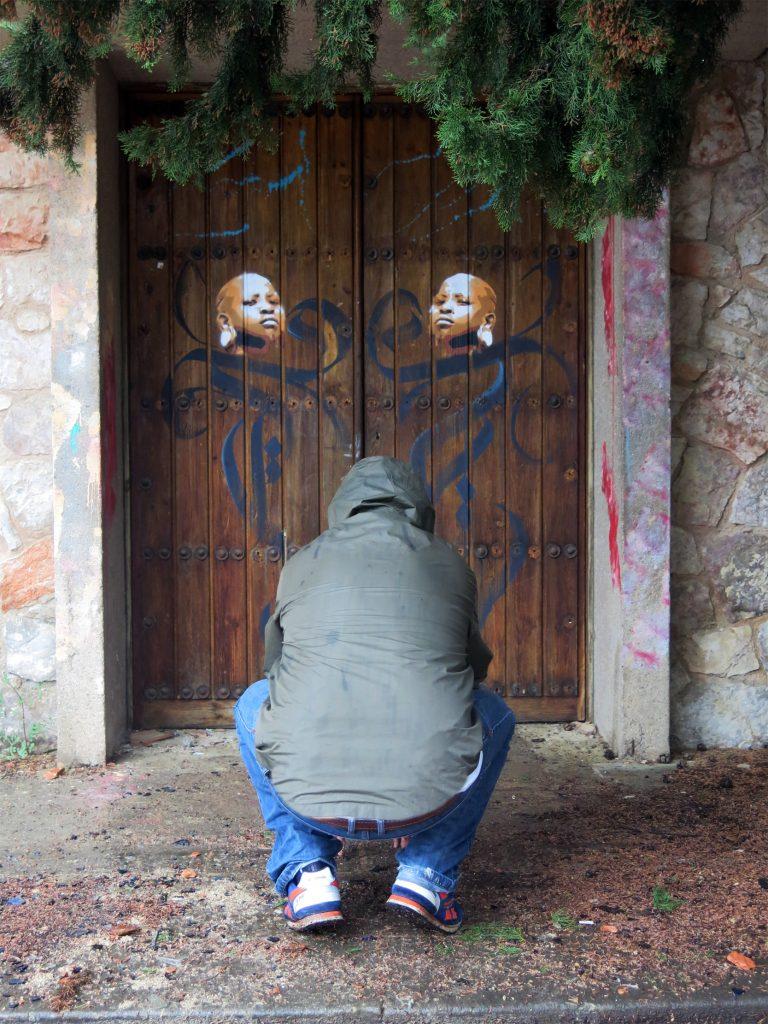 Arte urbano Akore, Barcelona