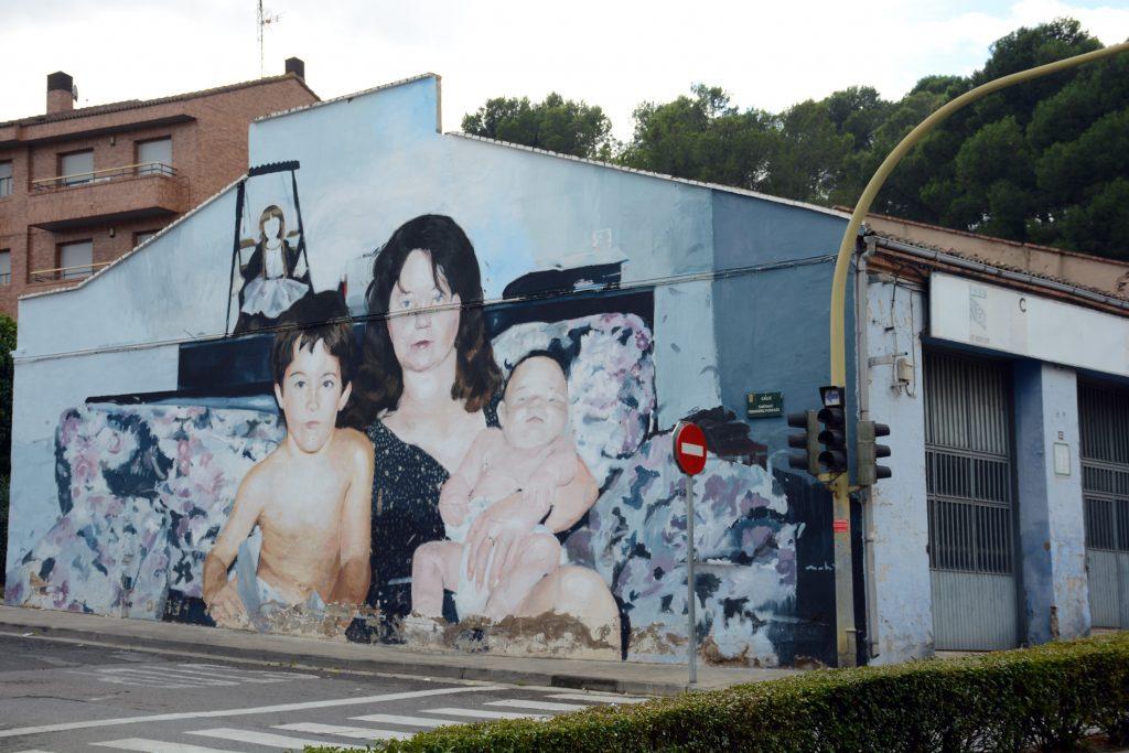 Arte Urbano Mohamed Lghacham, Avant-Garde, Tudela