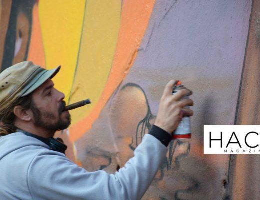 Arte urbano Rim Chiaradia, Barcelona, Hacid magazine