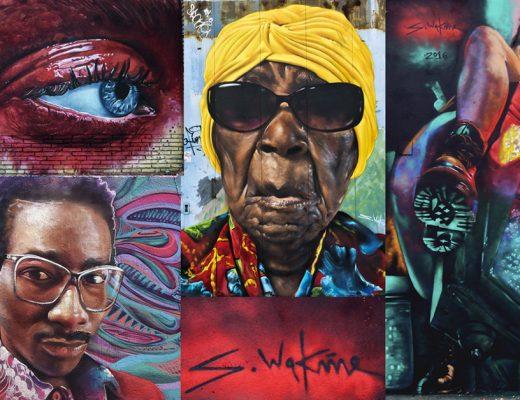 arte urbano Sebastien Waknine
