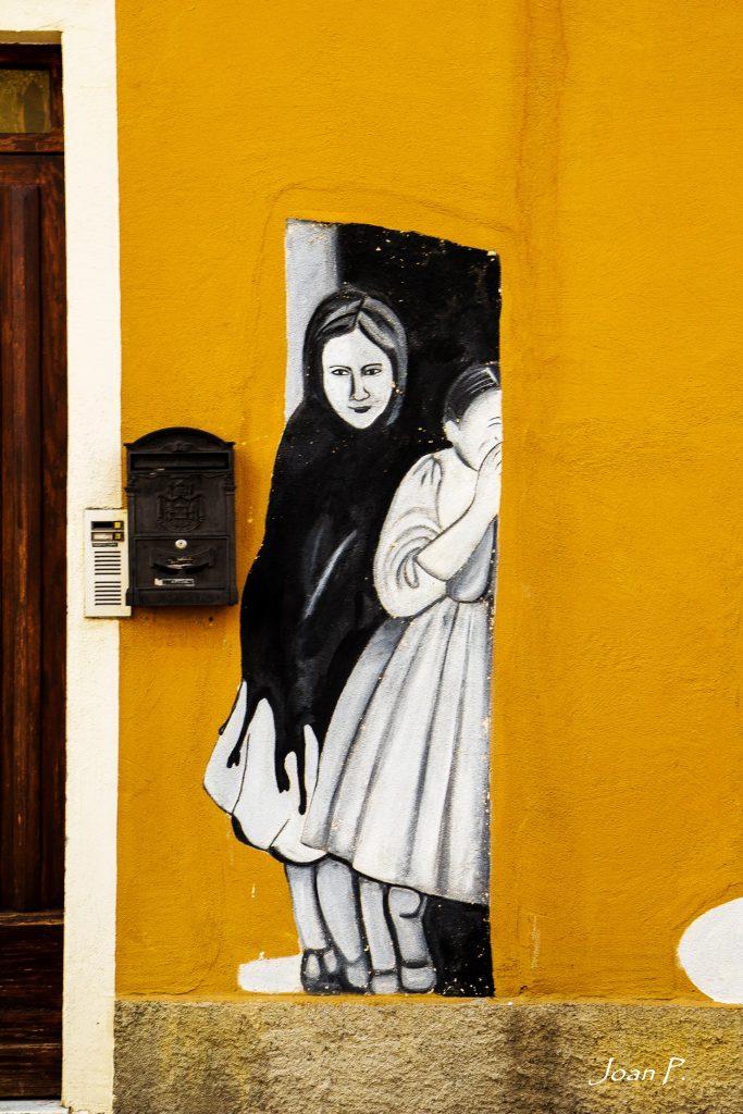 Arte urbano en Orgosolo, Cerdeña
