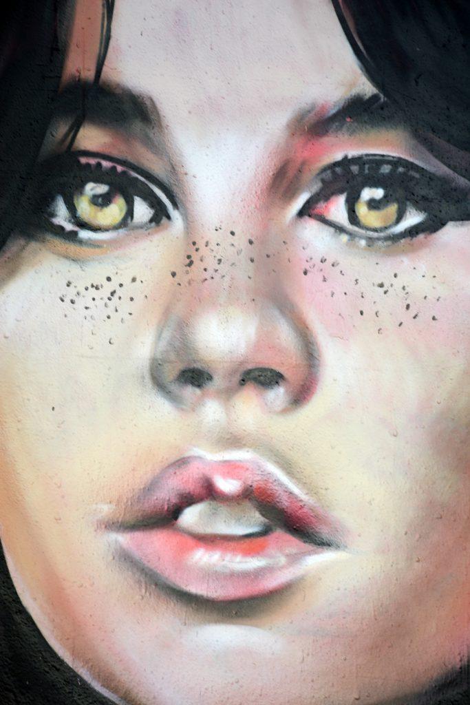 Arte urbano de LIly Brik & Mugraff