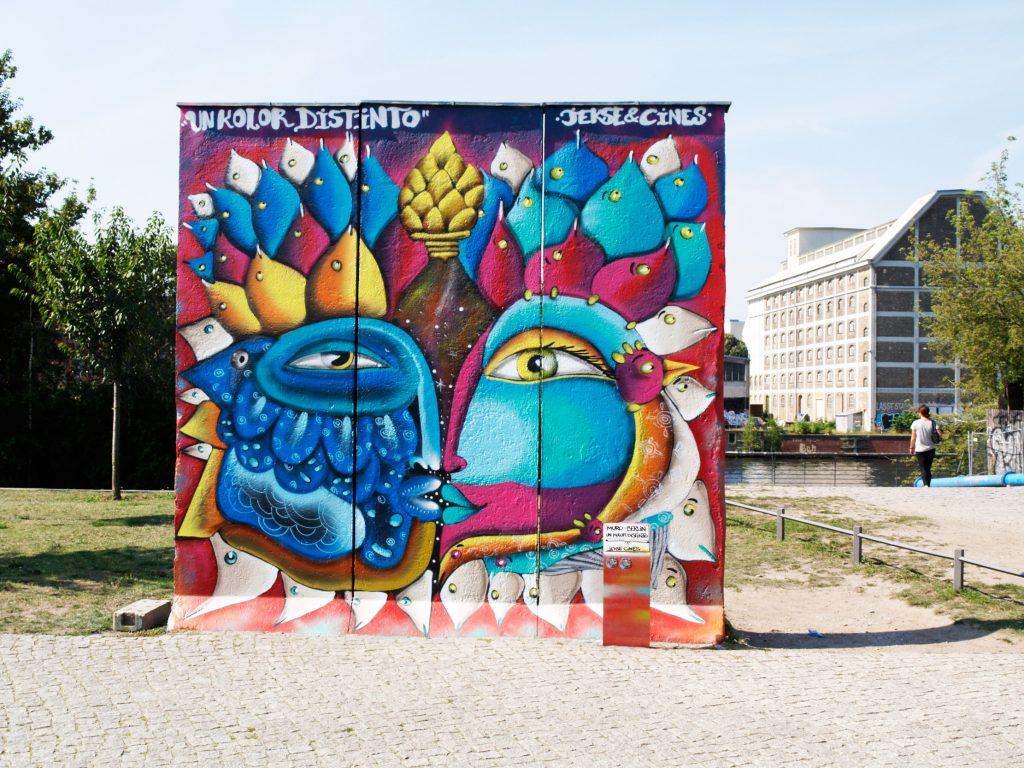 UnKolorDistinto arte urbano Berlín