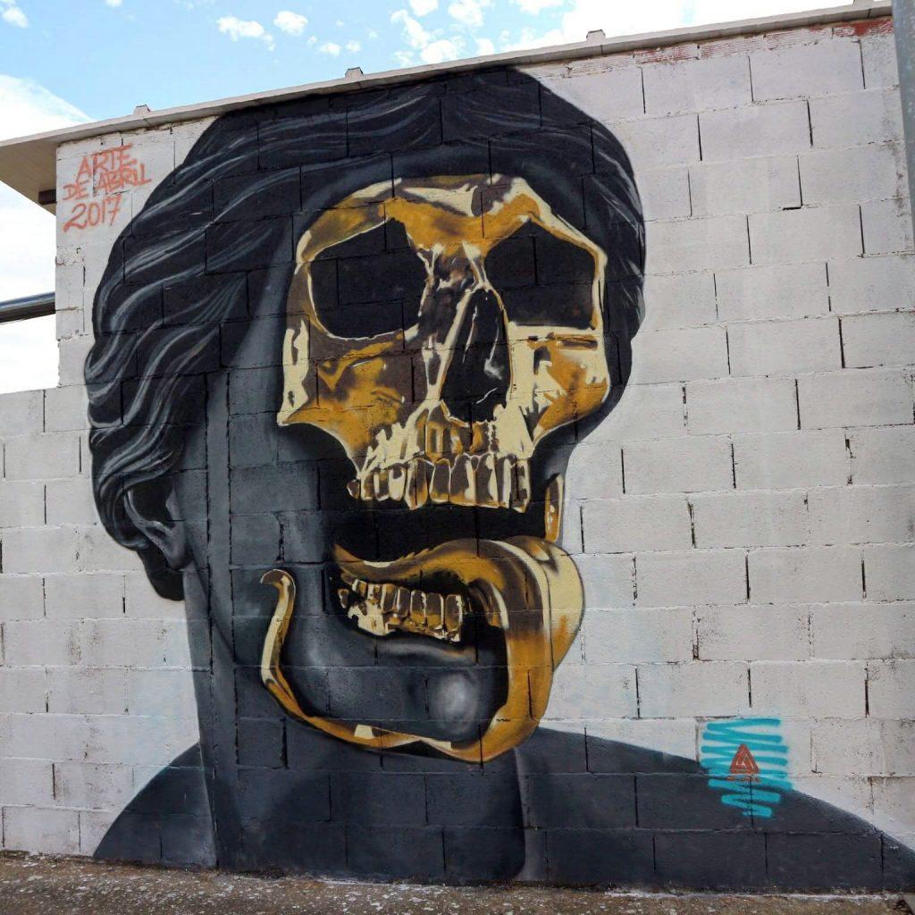 Arte de Abril La Bañeza, Arte urbano en León España, Sergio Abril