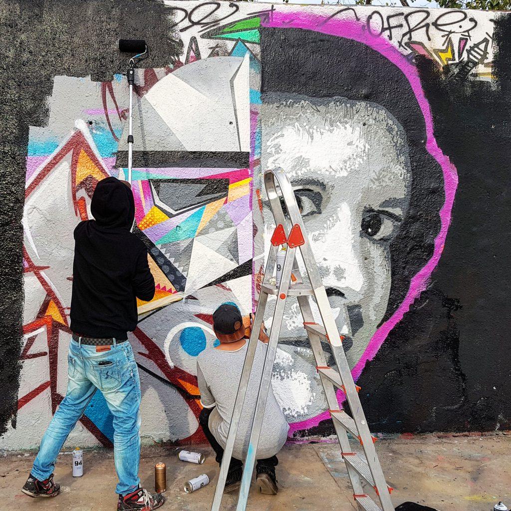 Arte Urbano Tim Marsh y IvesOne