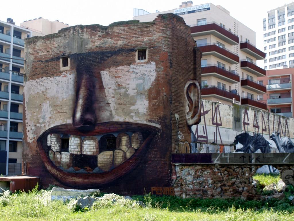 Arte Urbano Penao, Barcelona digerible
