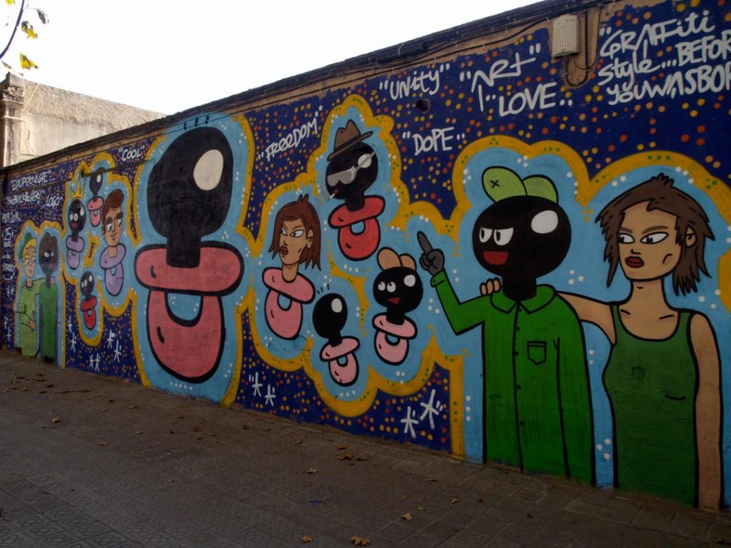 Arte urbano digerible