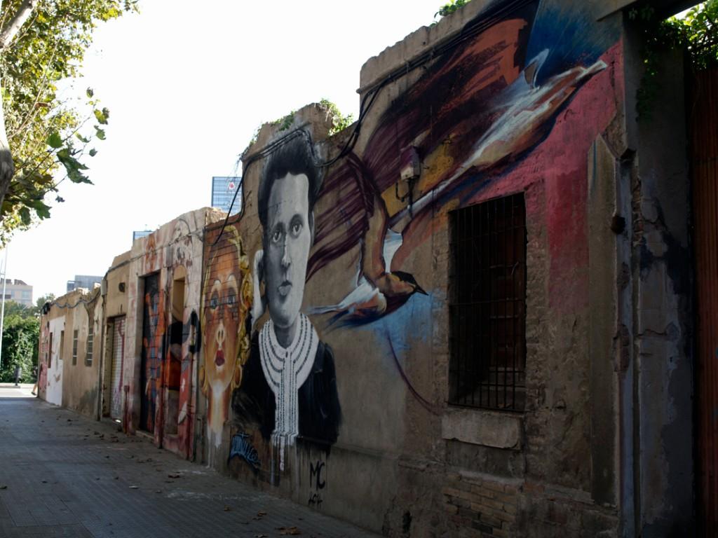Arte Urbano Poblenou digerible