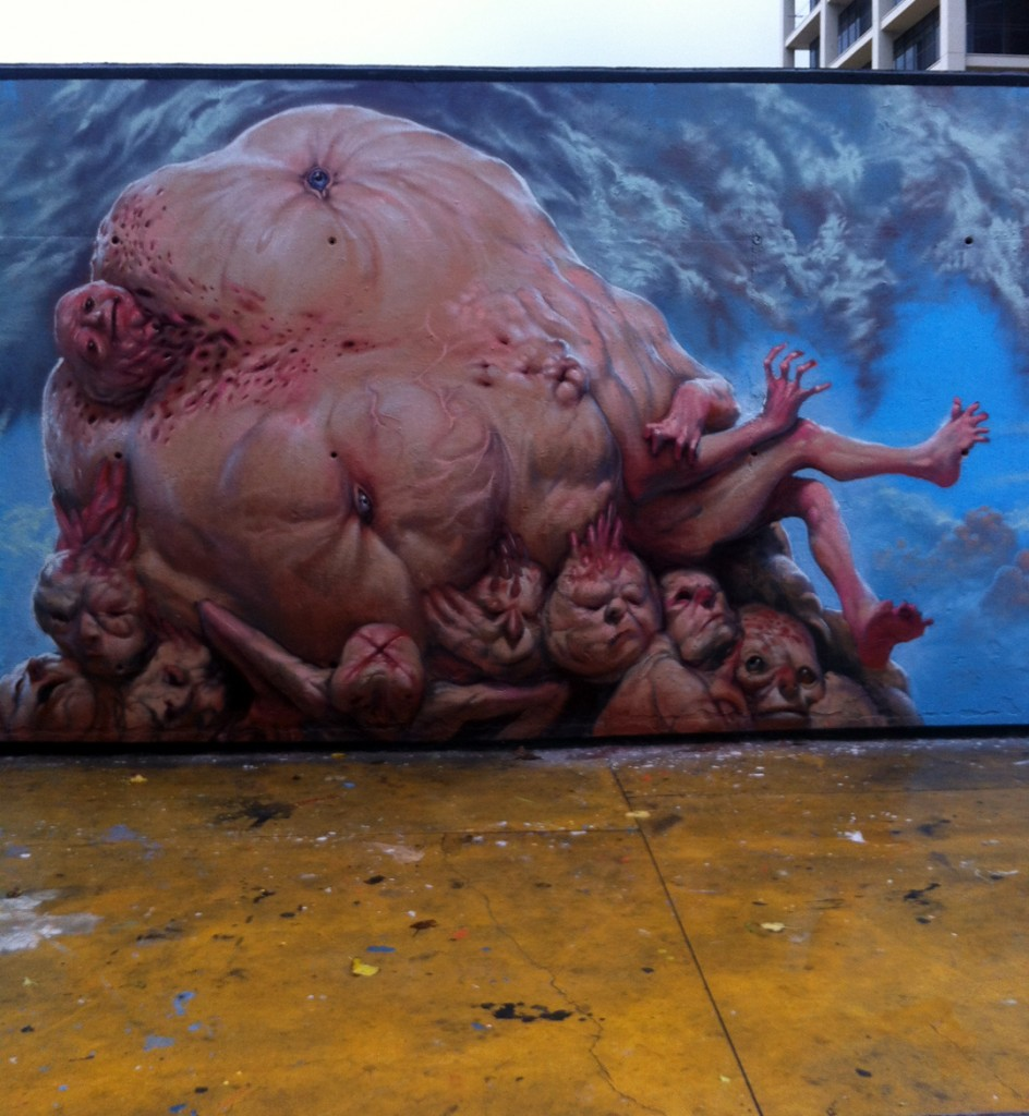 Arte urbano Enric Sant digerible