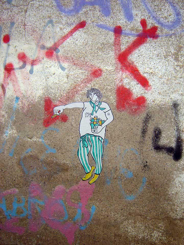 Arte Urbano en Huesca Digerible