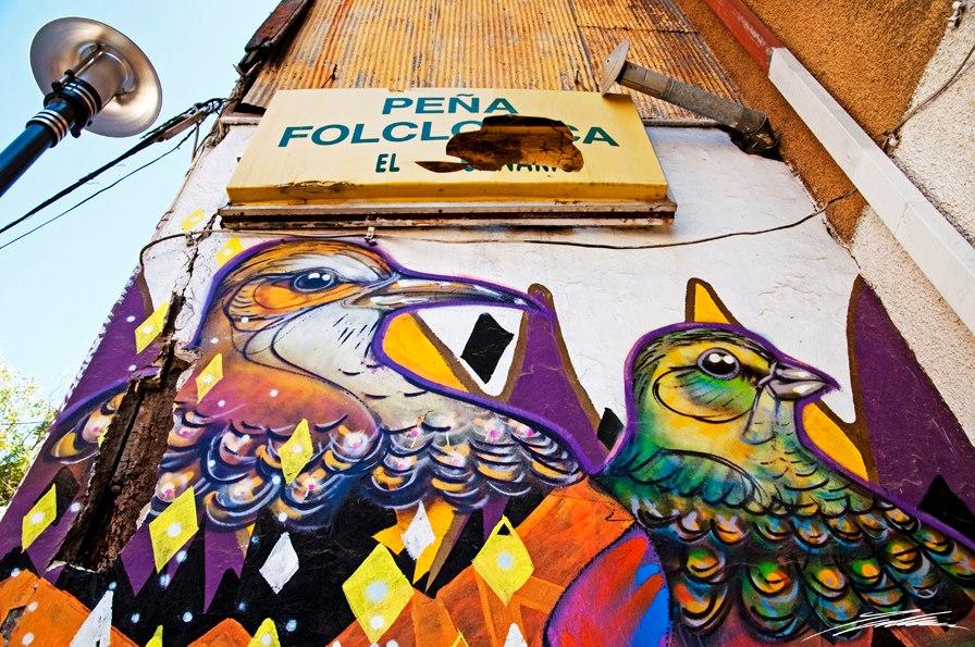 Charkipunk Arte urbano Digerible