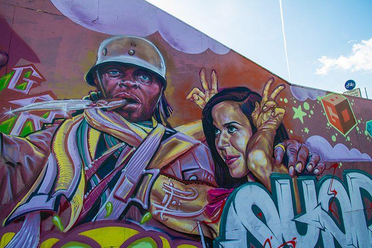 Arte urbano, Sevilla España Digerible