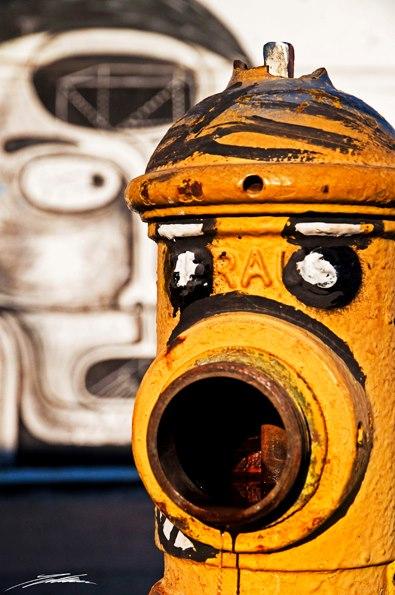 Agotok arte urbano Chile digerible