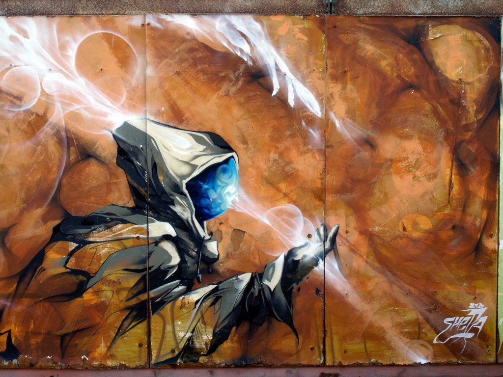 Shepa Arte urbano Gran Canaria Digerible
