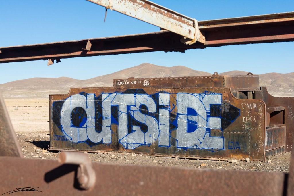 Arte Urbano - Bolivia - Digerible