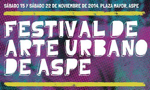 Festival de arte urbano Aspe 2014 digerible