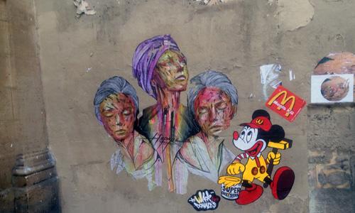 París arte urbano digerible