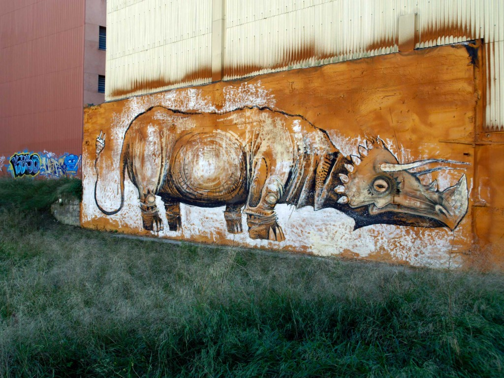 Feo Flip arte urbano Barcelona digerible