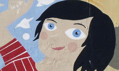 Vallcarca arte urbano Barcelona digerible