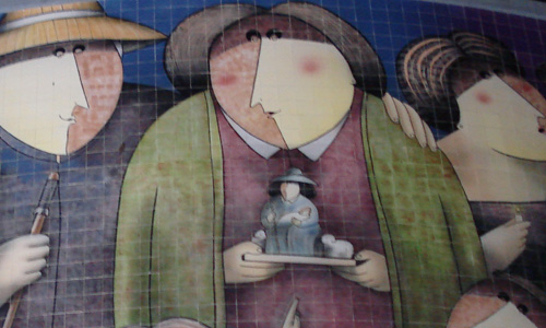 Arte urbano, Virgilio Arrieta, digerible