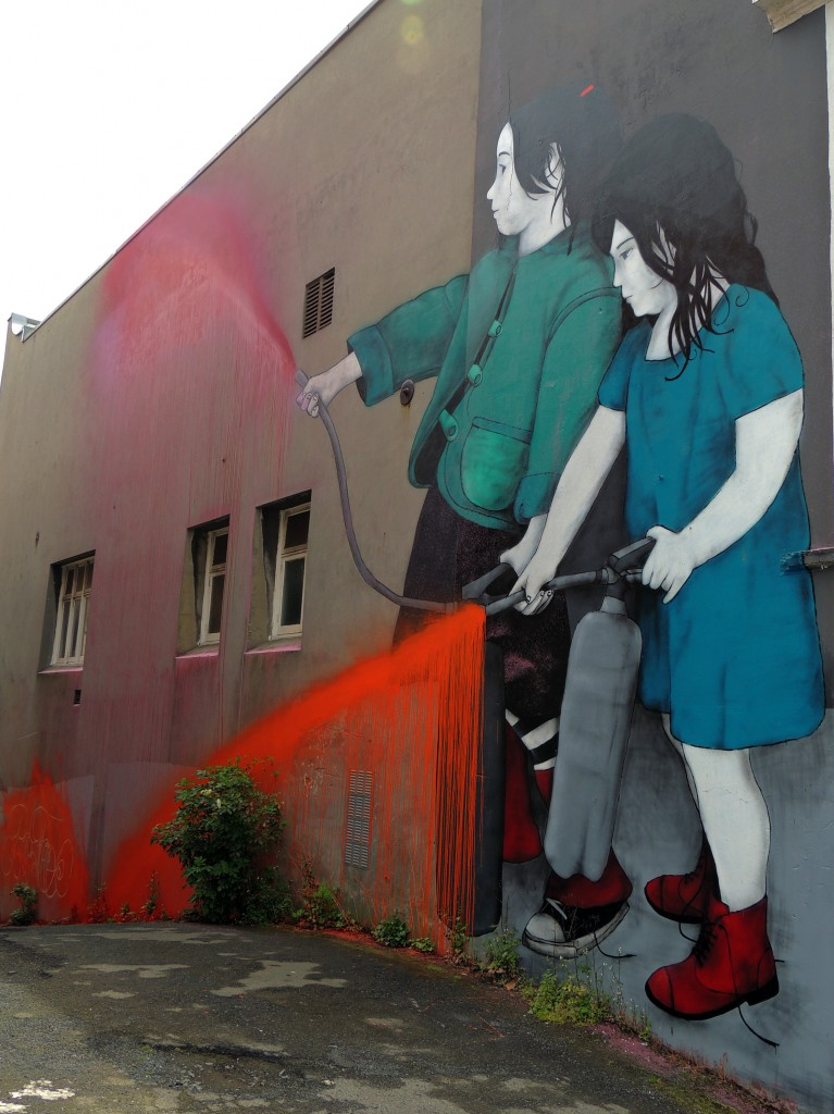 Arte Urbano, Be Free,  New Zealand, Digerible