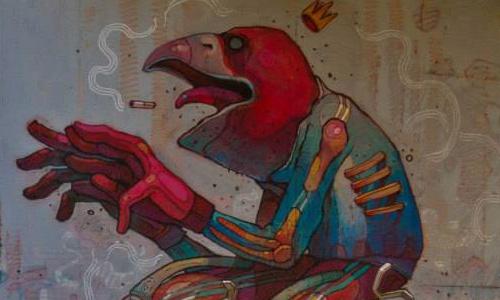 Arys, arte urbano, Barcelona, digerible