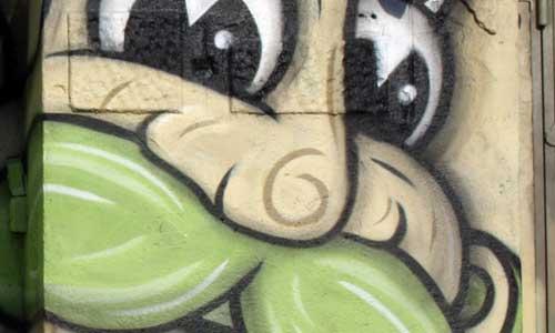Grizzle, Arte urbano Barcelona, Digerible