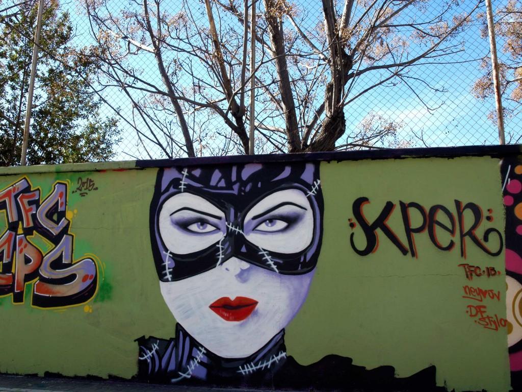 Arte urbano Poblenou, Digerible