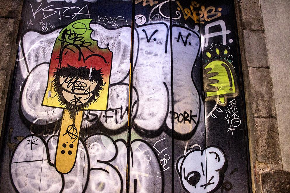 Konair, arte urbano barcelona, digerible