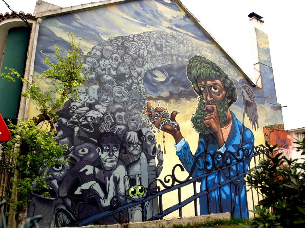 NO3L Arte urbano, Galicia , digerible