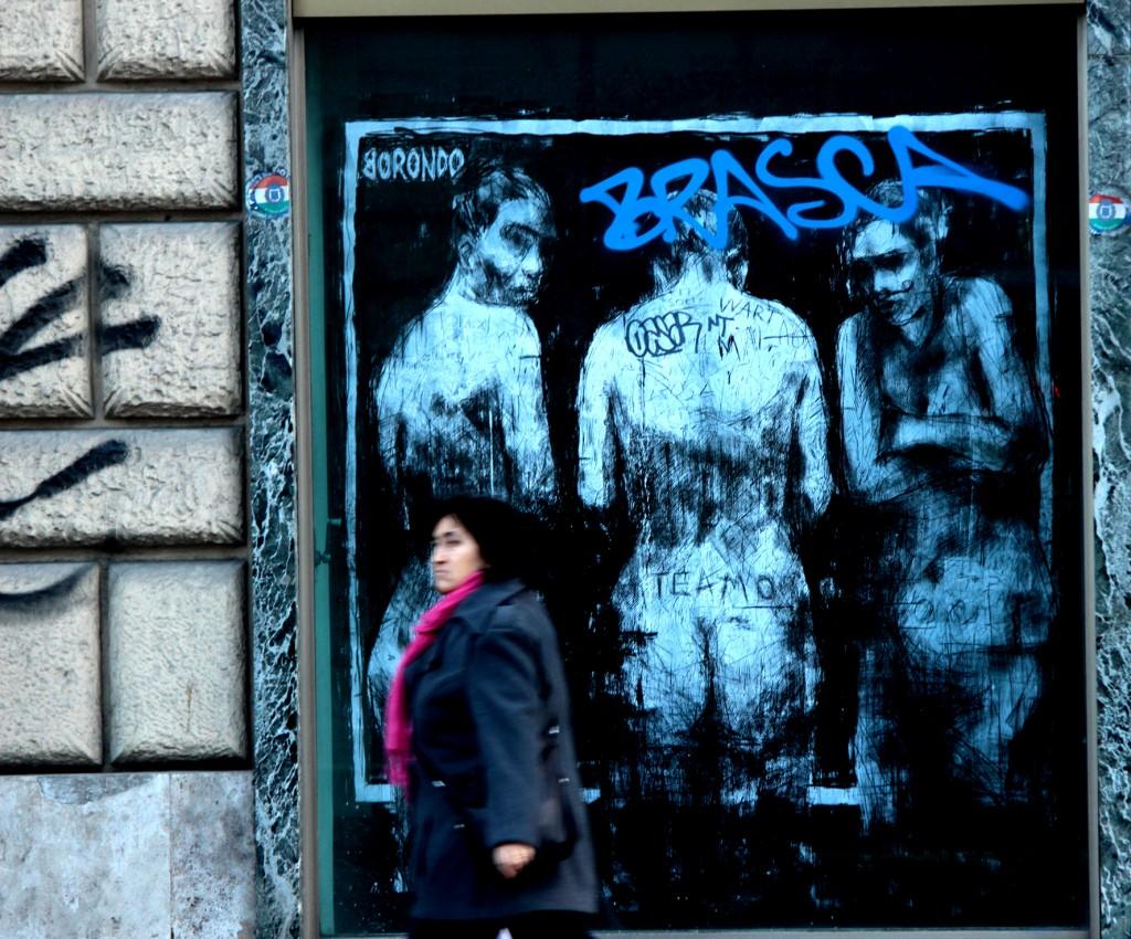 borondo Arte urbano italia