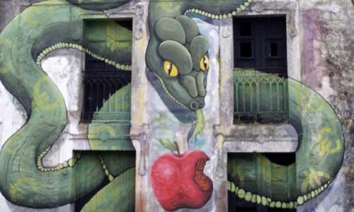 Sokram, Arte urbano, Galicia , digerible