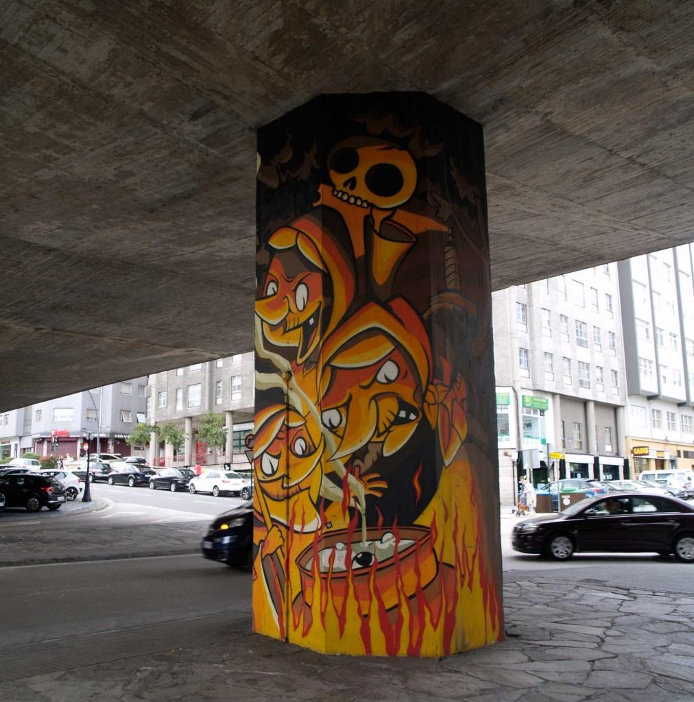Arte Urbano A Coruna digeribleArte Urbano A Coruna digerible