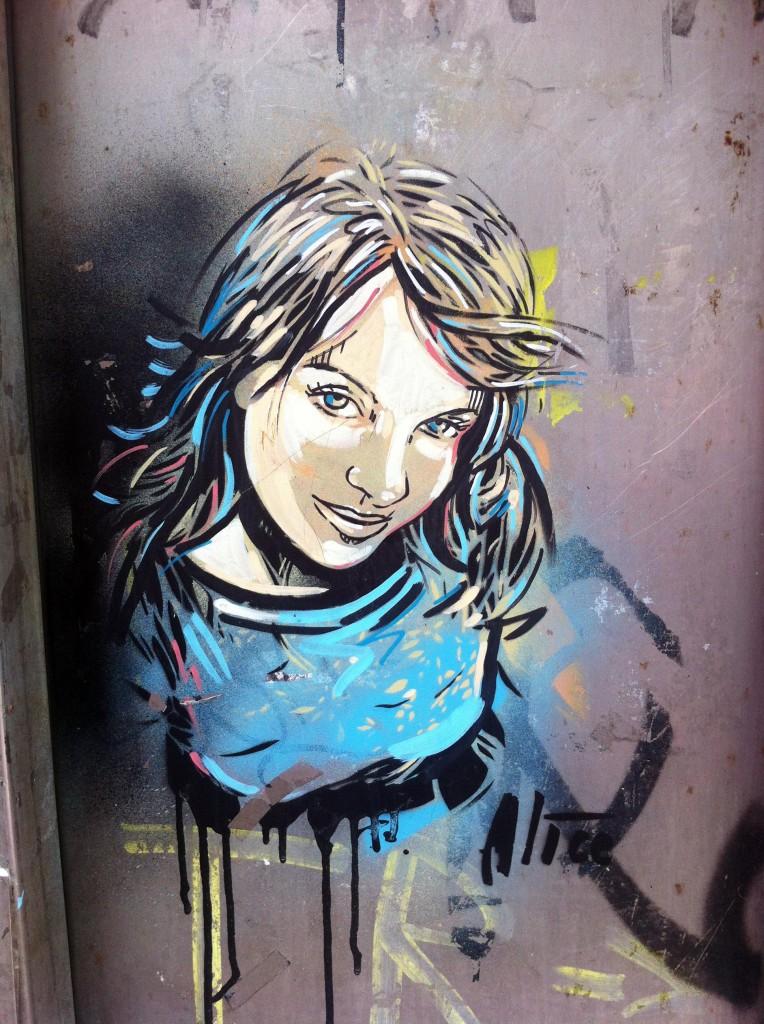 Alice Pasquini, arte urbano, digerible