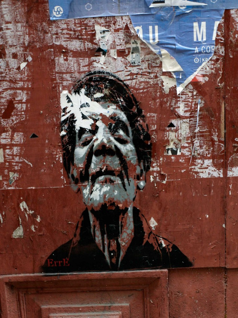 ErrE, Arte urbano La Coruña