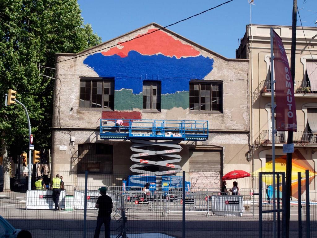 Ús Barcelona arte urbano, digerible